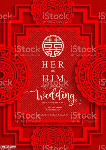 Chinese oriental wedding invitation card templates with beautiful on vector id967942070?b=1&k=6&m=967942070&s=612x612&h=xca6sjjrkafyw4ogtlgoyxran3wmuygovtk8emvl 0g=