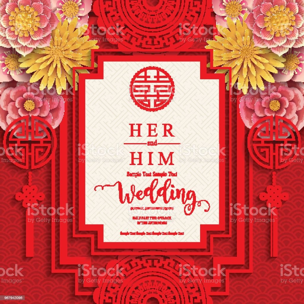 Chinese Invitation Card >> Chinese Wedding Invitation Wording Guide ...