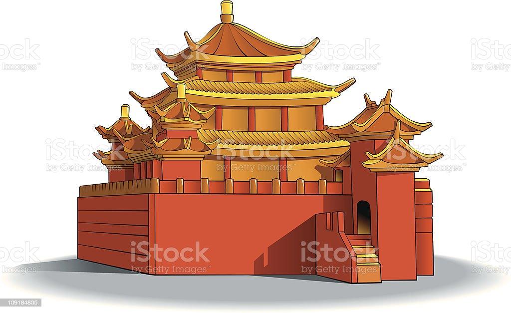 Chinese pagoda royalty-free chinese pagoda stock vector art & more images of ancient