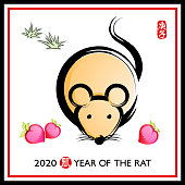 Chinese Painting for Year of the Rat.