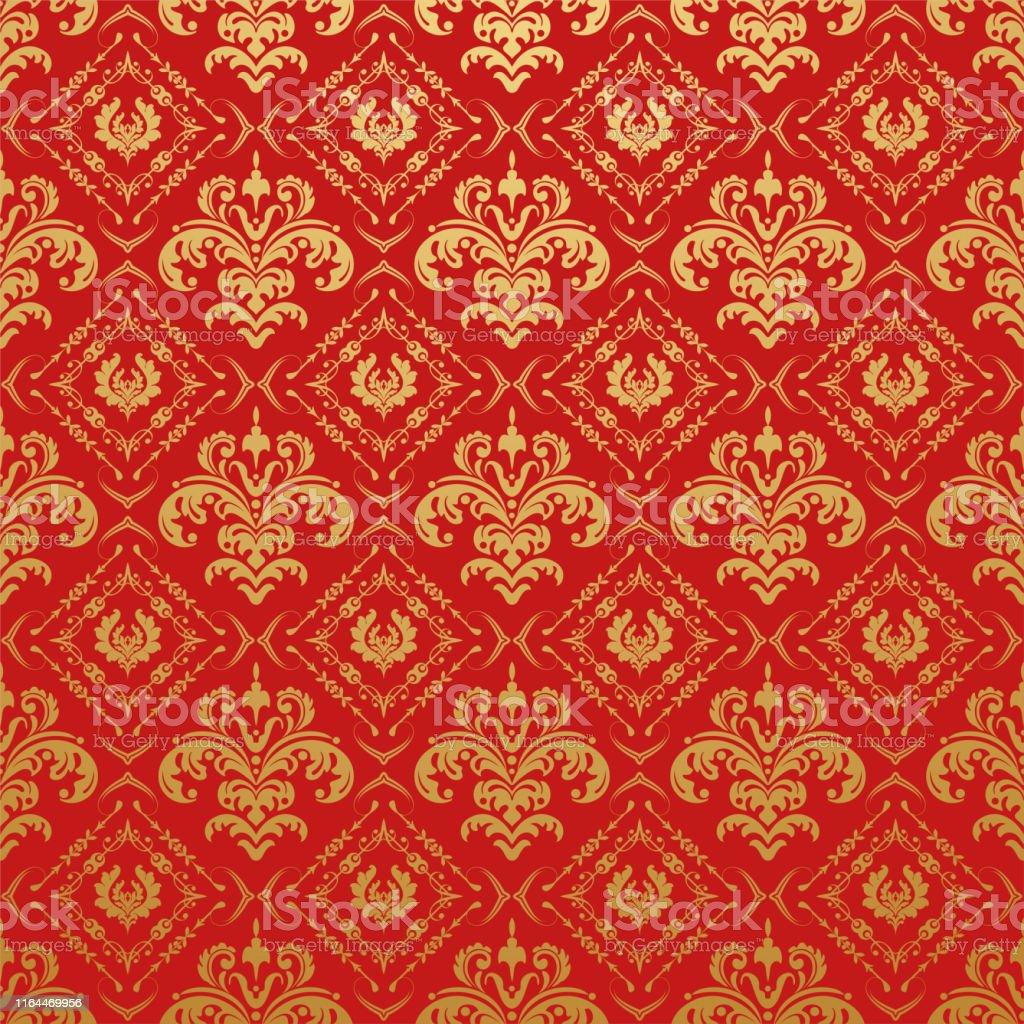 中国のパターン装飾的なテクスチャ壁紙 アラビア風のベクターアート素材や画像を多数ご用意 Istock