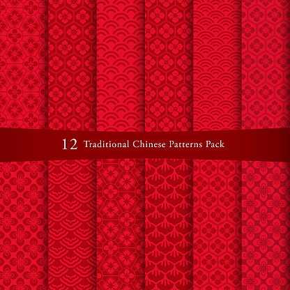 Chinese pattern set