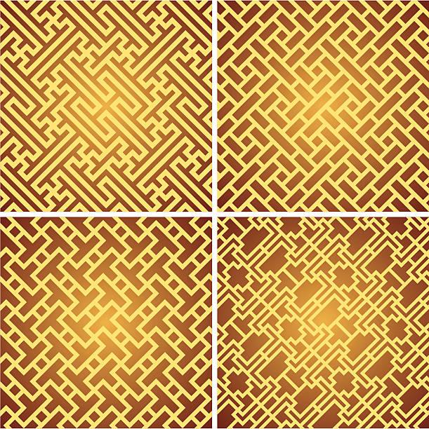 chinese pattern vector art illustration