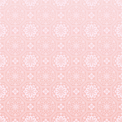 Chinese pink background.