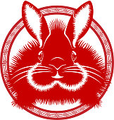 Chinese Rabbit Art