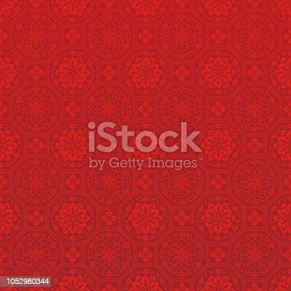 Chinese decorative background.