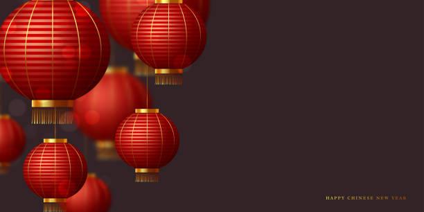 中国の赤い吊り提灯。 - 台湾点のイラスト素材/クリップアート素材/マンガ素材/アイコン素材