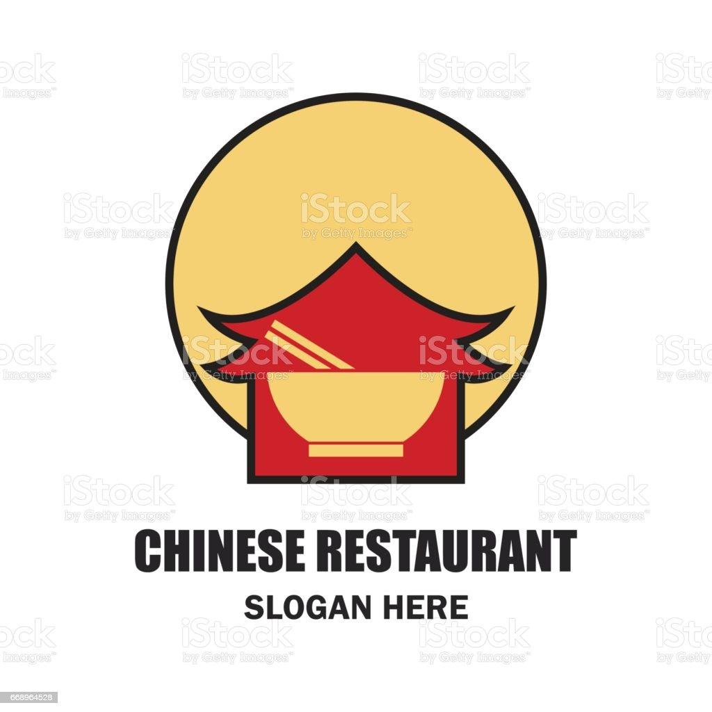 chinese restaurant / chinese food icon with text space for your slogan / tagline, vector illustration chinese restaurant chinese food icon with text space for your slogan tagline vector illustration - immagini vettoriali stock e altre immagini di affari royalty-free