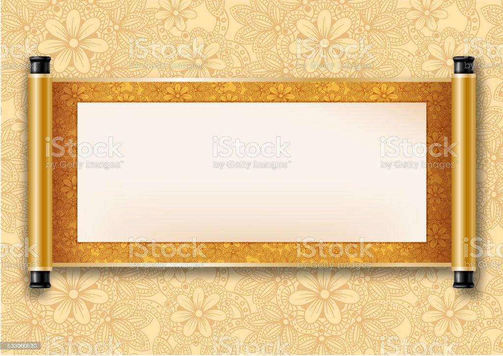 Chinese scroll
