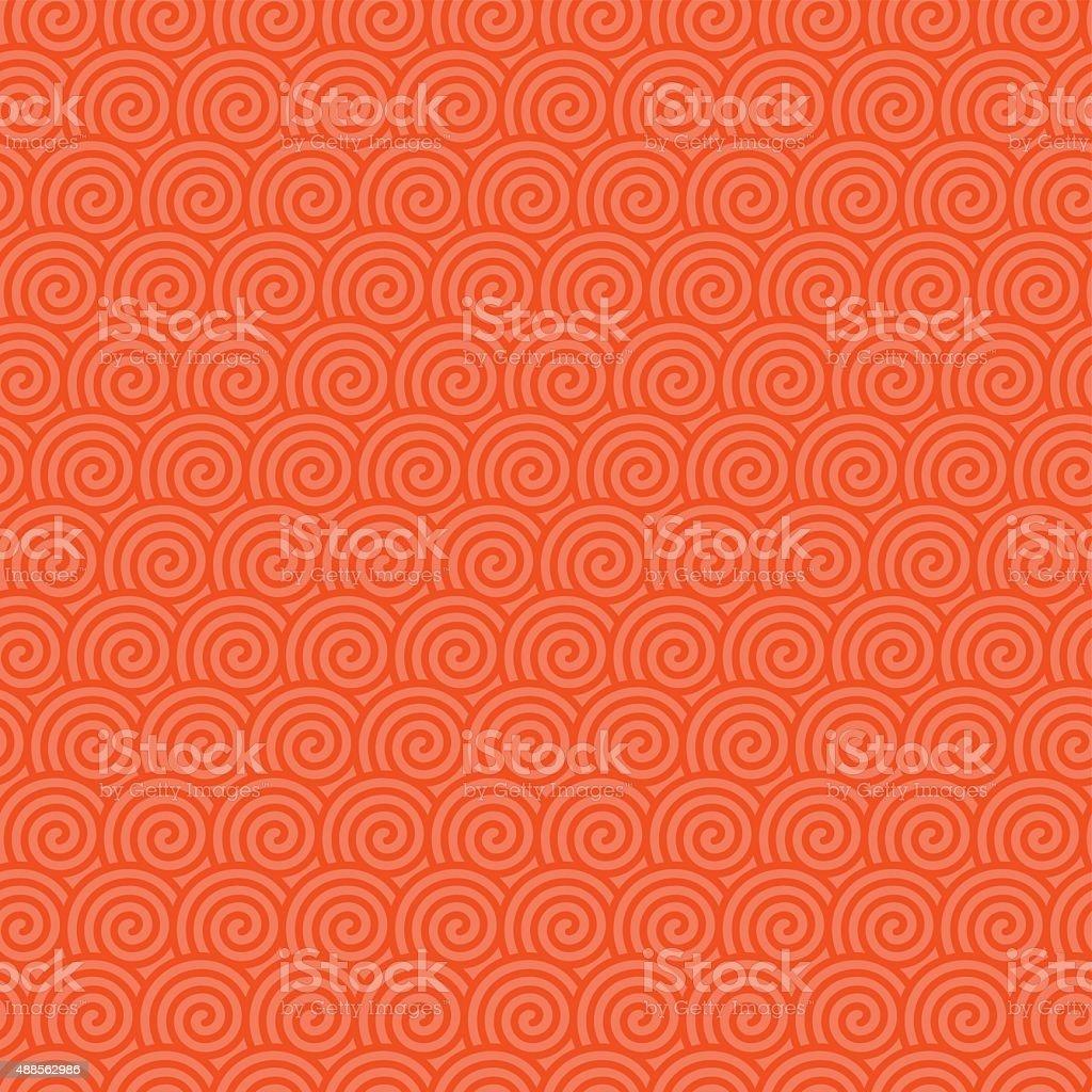 Chinese nahtlose Hintergrund – Vektorgrafik