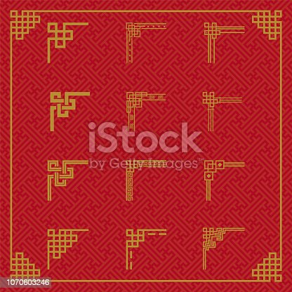 Chinese Seamless Line Border Ornament