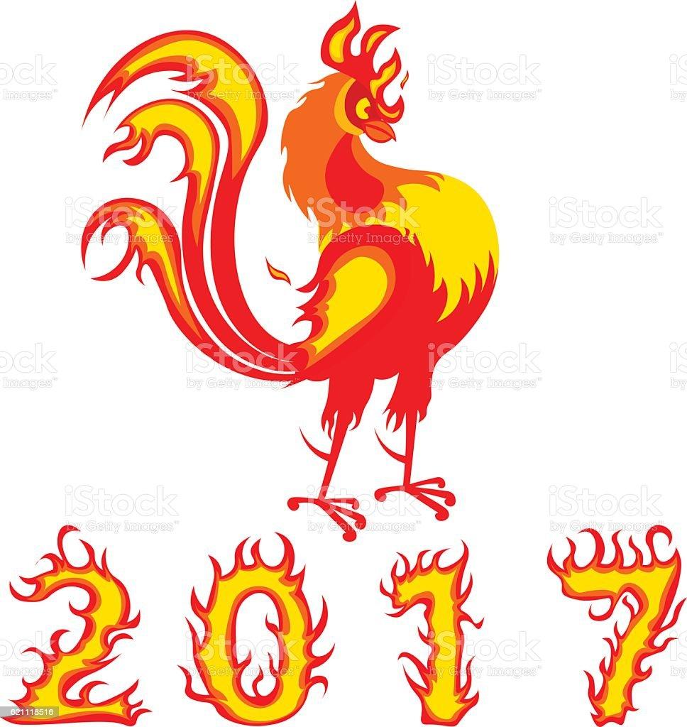 Chinese symbol 2017 rooster bird stock vector art 621118516 istock chinese symbol 2017 rooster bird royalty free stock vector art biocorpaavc