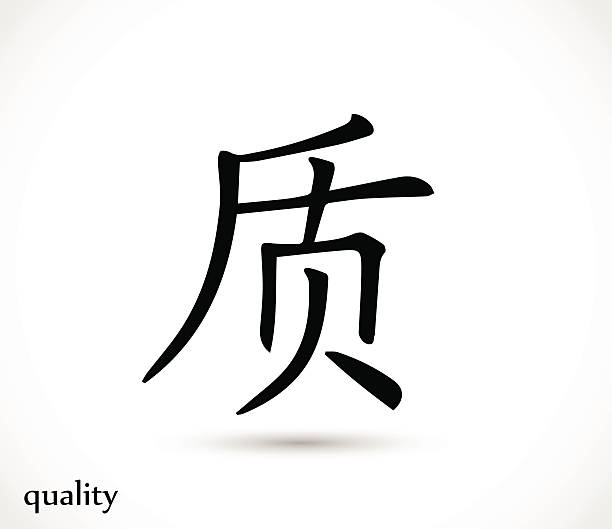Royalty Free Chinese Characters Clip Art Vector Images