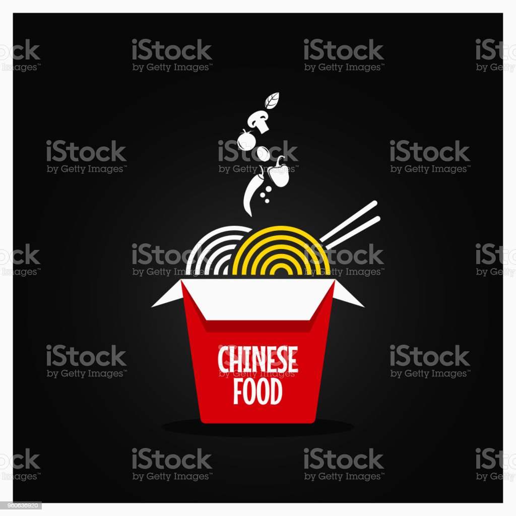 Chinese Take Out Box Takeaway Restaurant Food Background Stock Illustration Download Image Now Istock