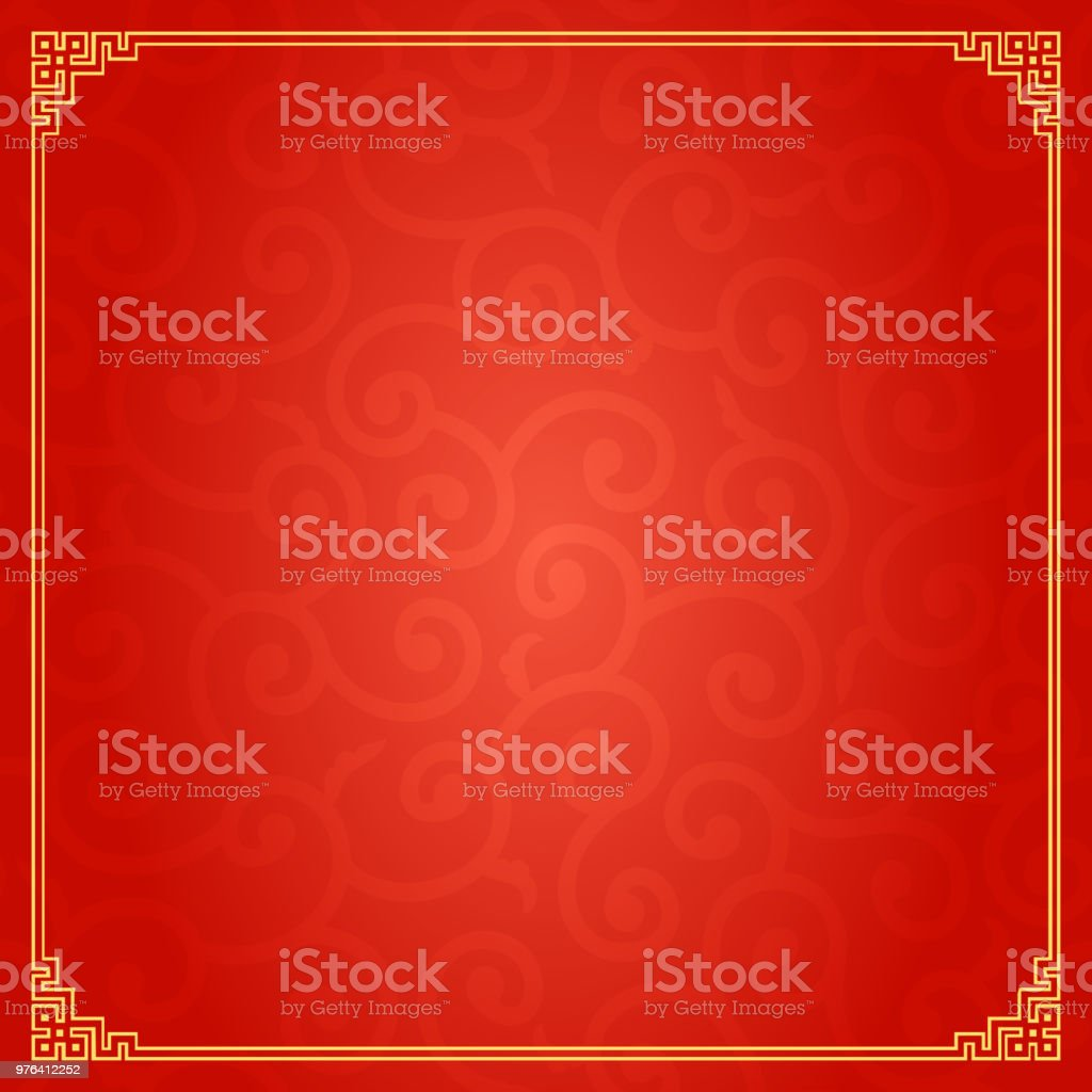 Chinese Traditional Background vector art illustration