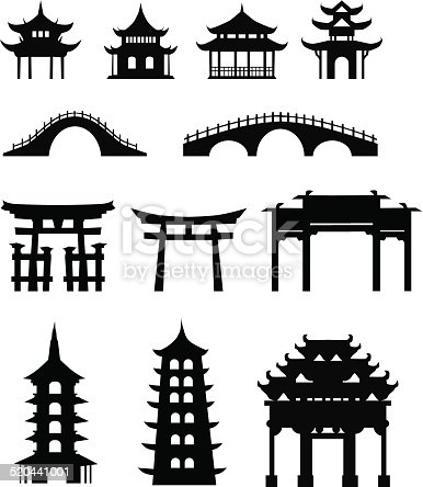 Chinese traditional buildings