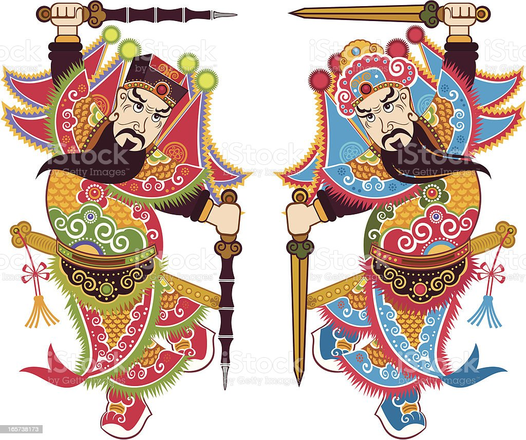 chinese traditional door god royalty-free chinese traditional door god stock vector art \u0026&;  sc 1 st  iStock & Chinese Traditional Door God Stock Vector Art \u0026 More Images of Adult ...