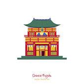 Chinese traditional pagoda