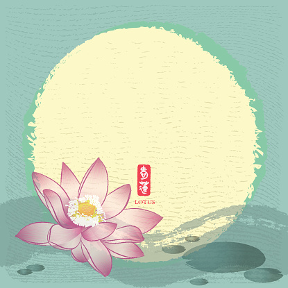 Chinese Traditional Painting: Lotus