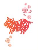 Chinese year of Pig