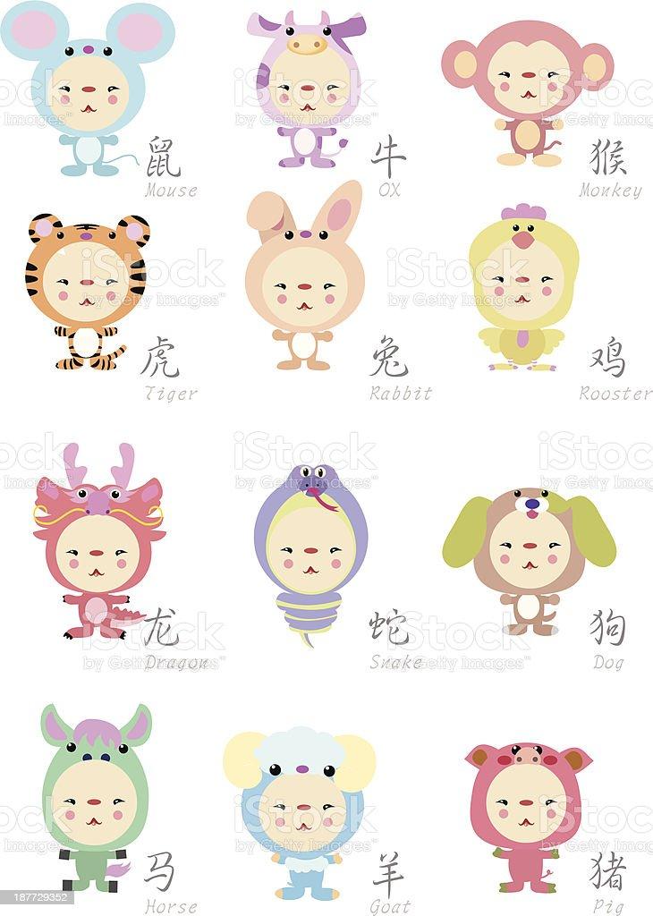 животные на китайском