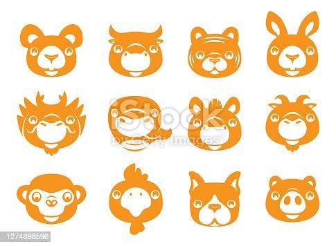 istock Chinese Zodiac animals signs 1274898596