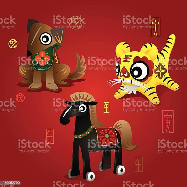 Chinese zodiac mascots dog tiger horse vector id159062790?b=1&k=6&m=159062790&s=612x612&h=6tgq9fcpdwxh2ndit6hnmdthmct0tjvlhyd tqhnnqi=