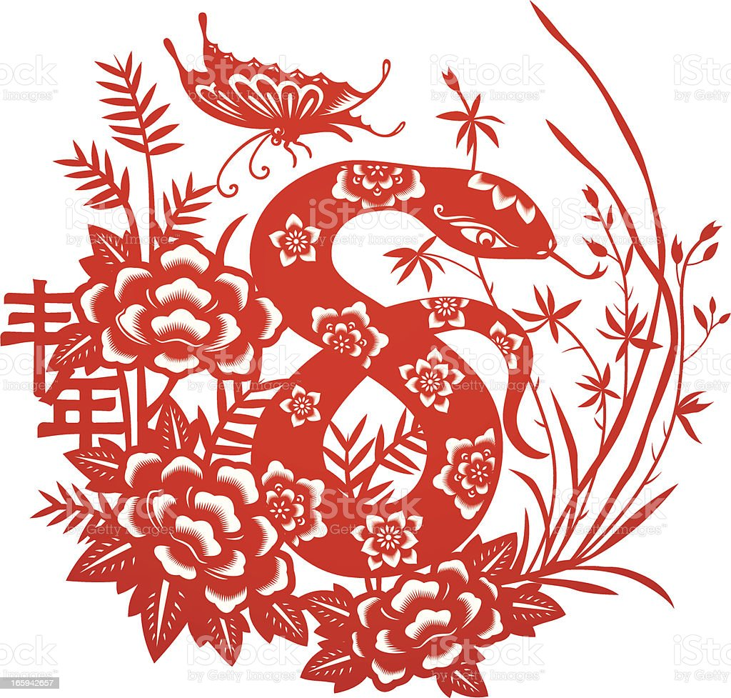 Chinese Zodiac Snake royalty-free chinese zodiac snake stock vector art & more images of abstract