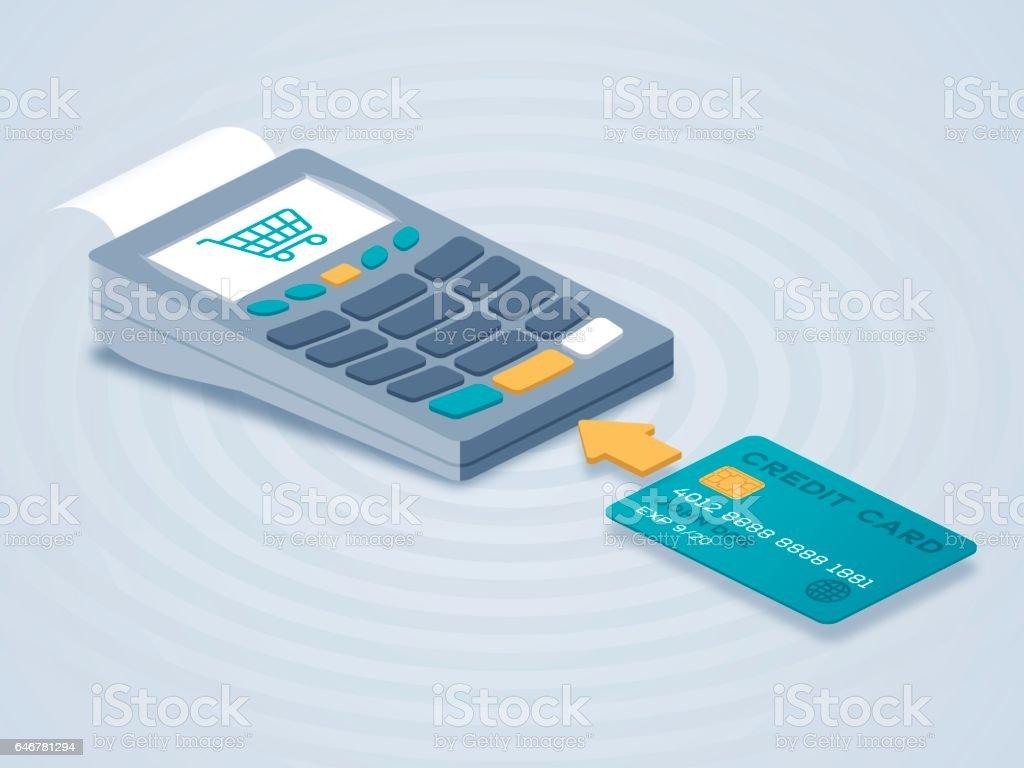 Chip Card Credit Card Reader