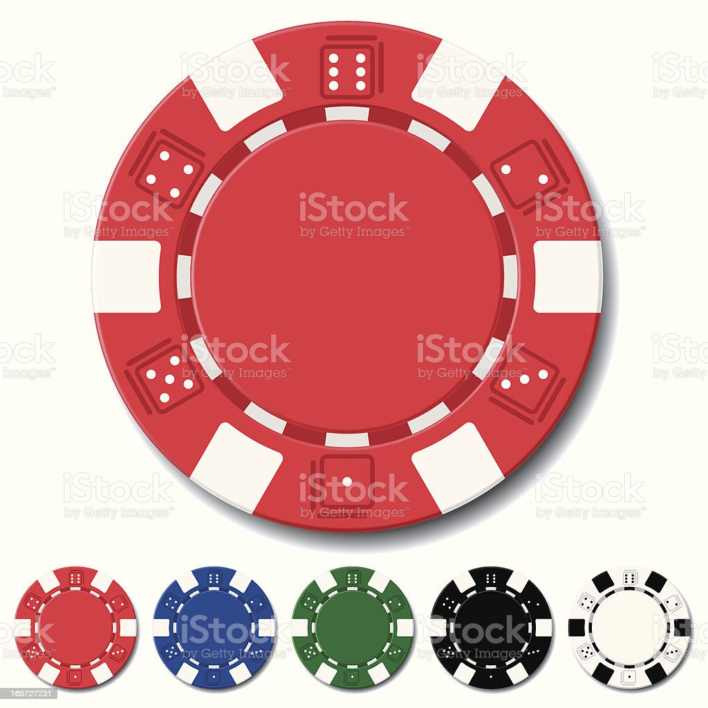royalty free poker chips clip art vector images illustrations rh istockphoto com poker chip vector image poker chips vector free download