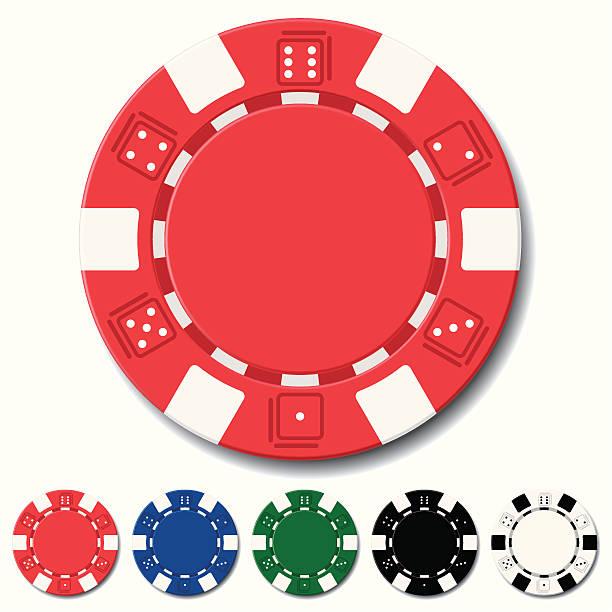 chips the vector illustration of poker chips gambling chip stock illustrations