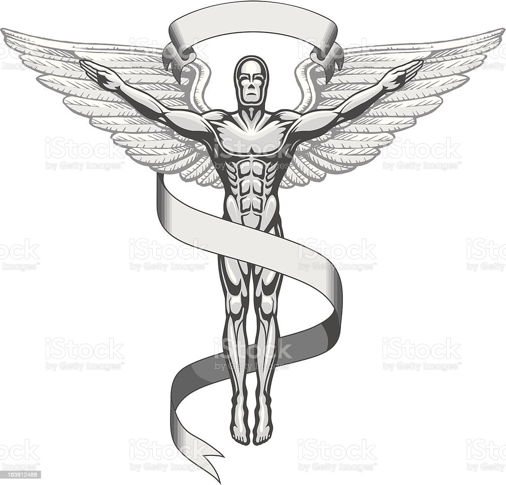 Chiropractor Symbol royalty-free chiropractor symbol stock vector art & more images of adult