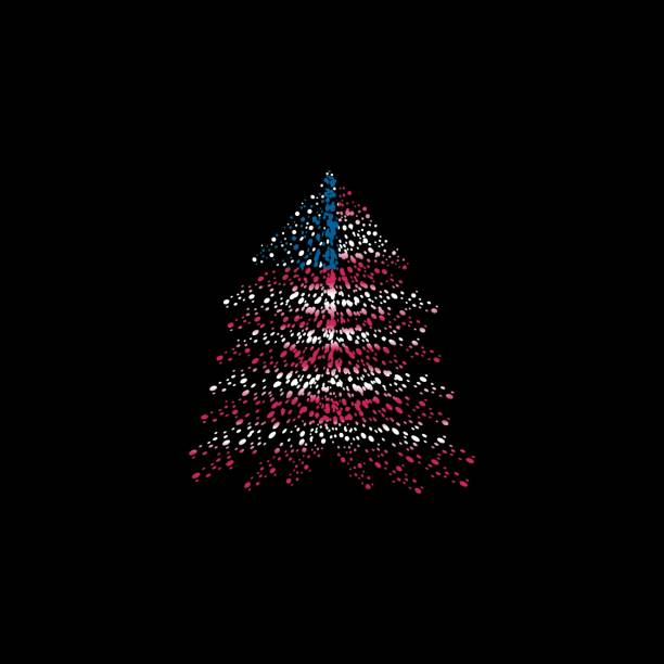 light of sign holiday july flag led american christmas tree pin lights orange outdoor