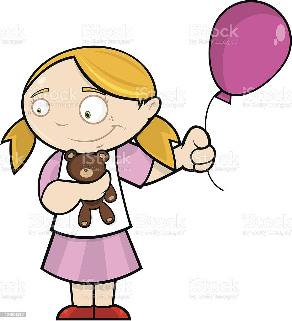Chloe and her balloon royalty-free chloe and her balloon stock vector art & more images of adolescence