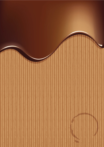 Chocolate abstract