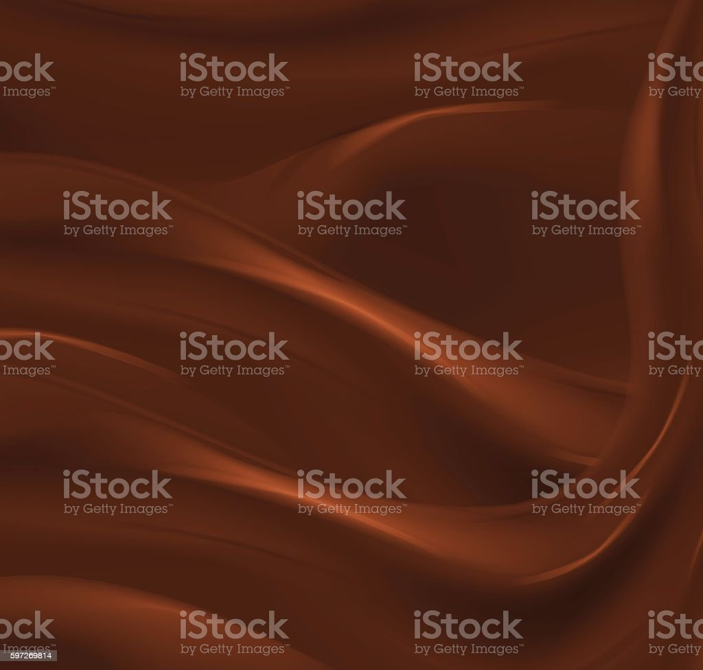 Chocolate abstract wave vector background Lizenzfreies chocolate abstract wave vector background stock vektor art und mehr bilder von bildhintergrund