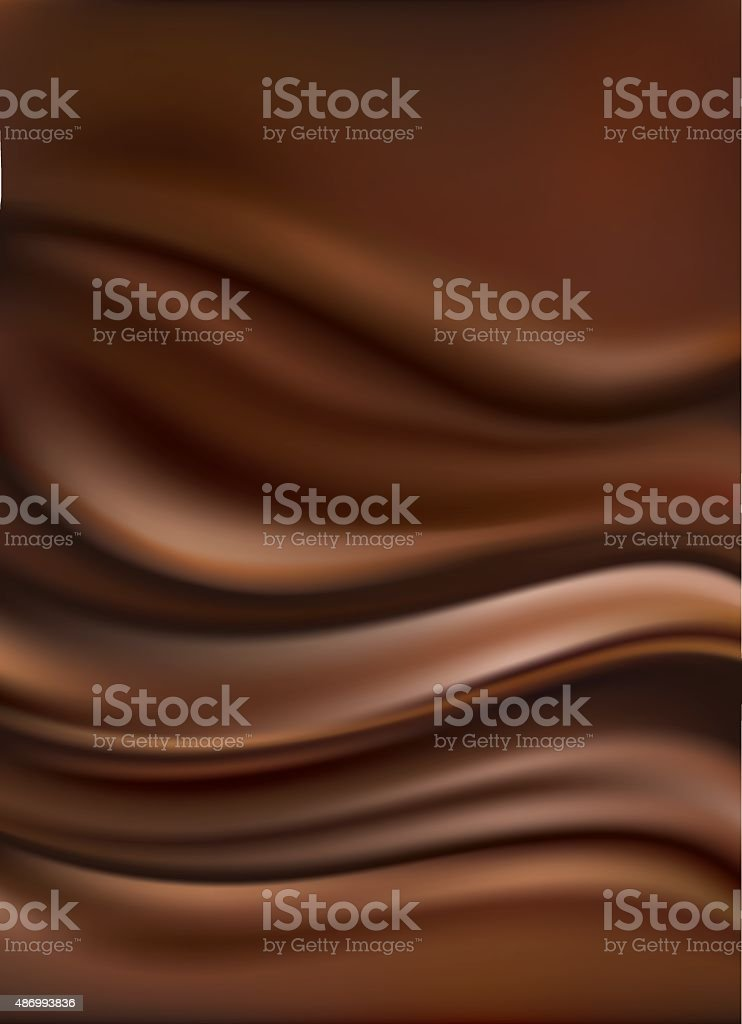 chocolate background vector art illustration