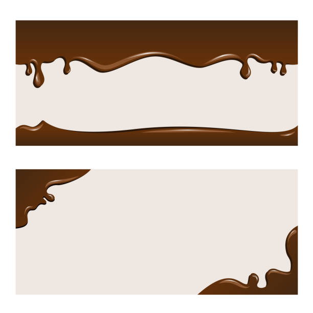 chocolate background - chocolate stock illustrations