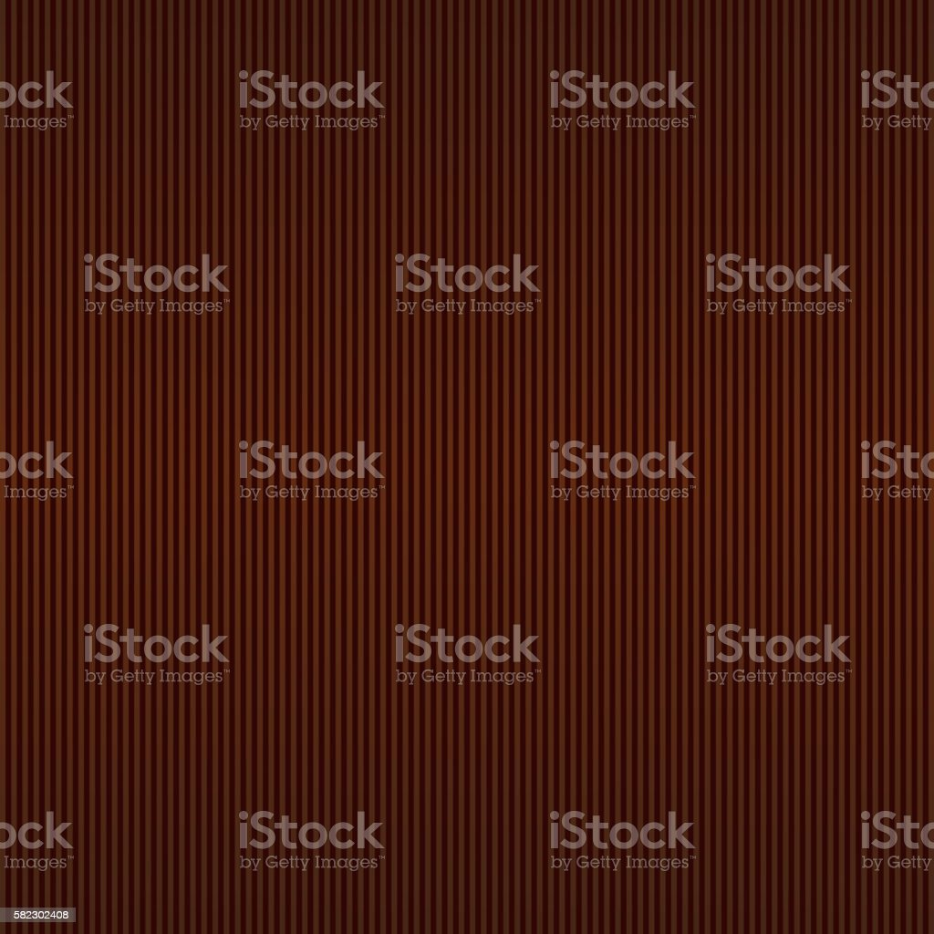 Chocolate Background with Brown Stripes. Vector vector art illustration