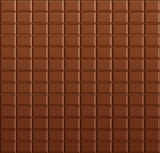초콜릿 바 배경 - 초콜릿 stock illustrations
