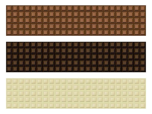 chocolate bar banner set - tortenriegel stock-grafiken, -clipart, -cartoons und -symbole