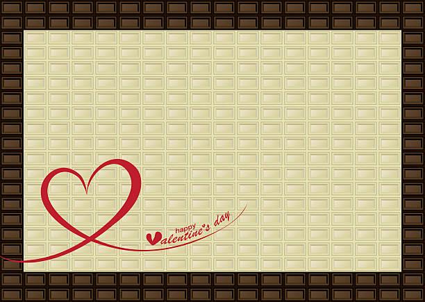 chocolate bar frame - tortenriegel stock-grafiken, -clipart, -cartoons und -symbole