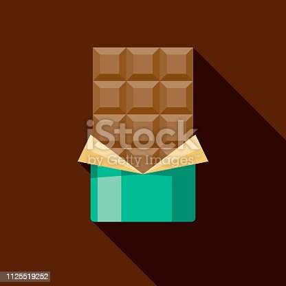 istock Chocolate Bar Icon 1125519252