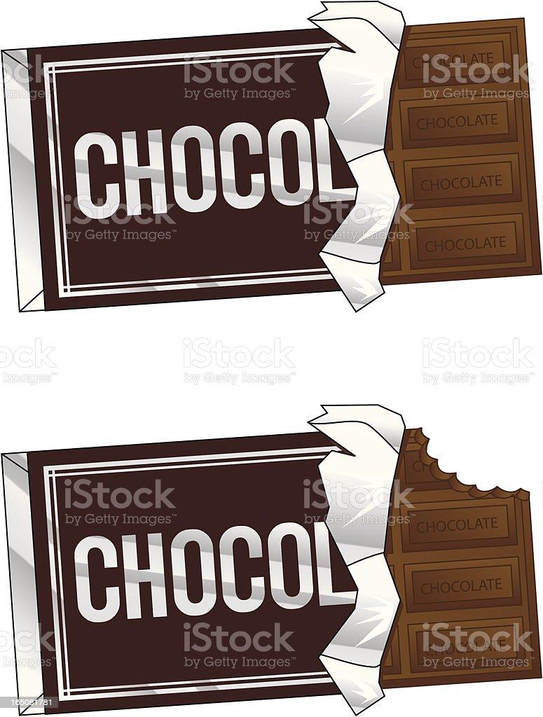 chocolate bar royalty-free stock vector art