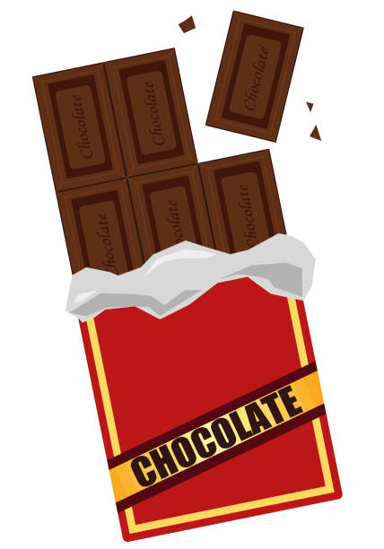 Chocolate candy vector illustration vector art illustration