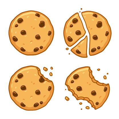 Chocolate chip cookie set