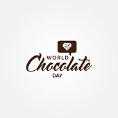 Chocolate Day Vector Design