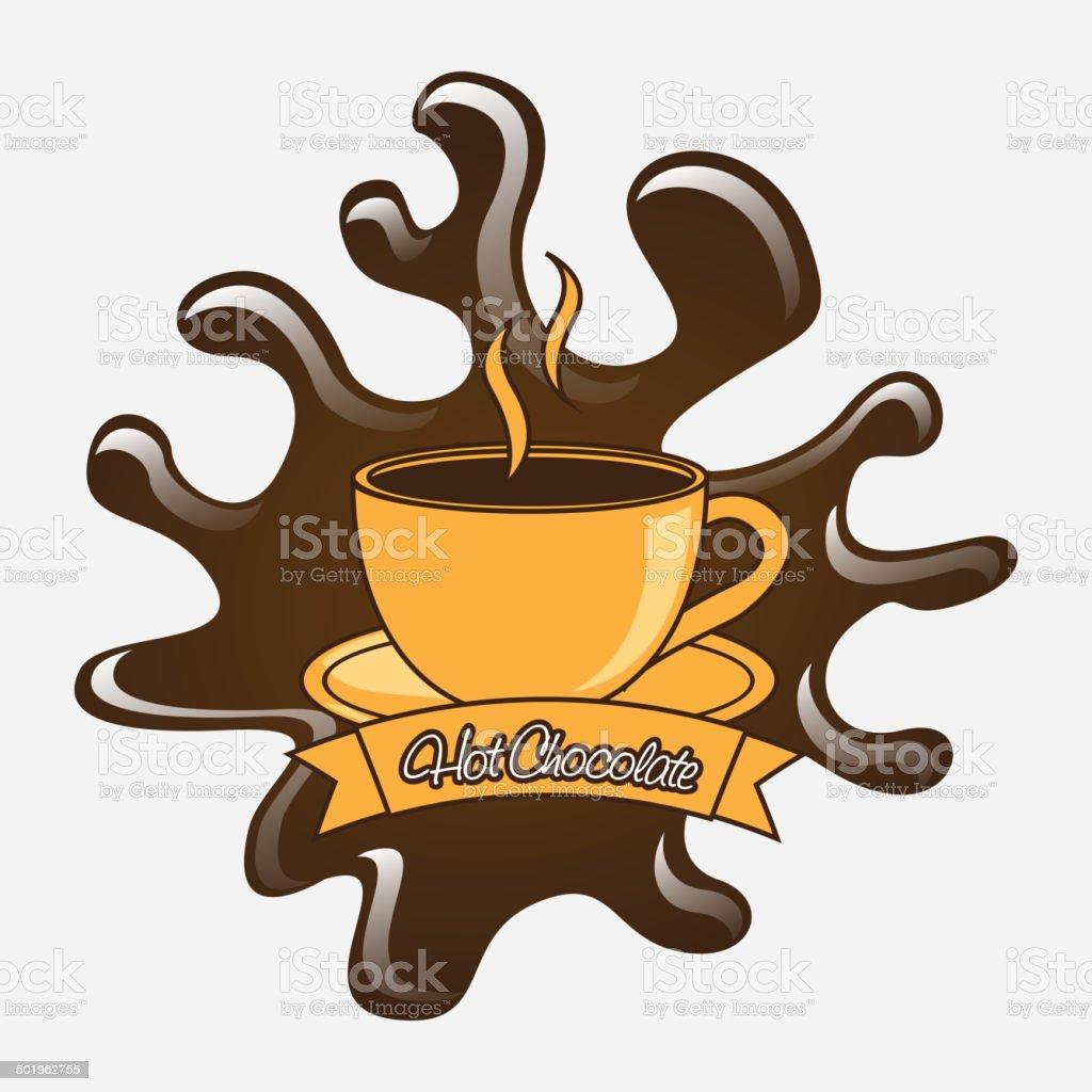 Chocolate design royalty-free stock vector art