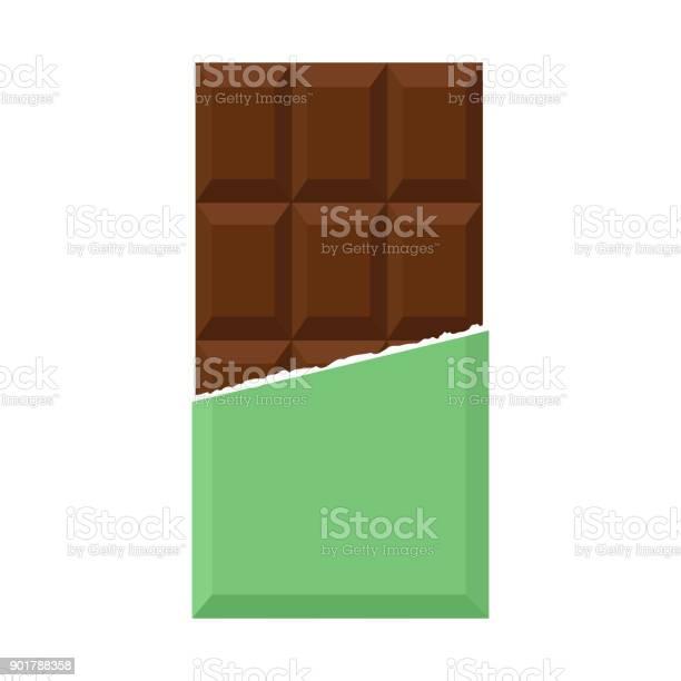 초콜릿 평면 디자인 0명에 대한 스톡 벡터 아트 및 기타 이미지