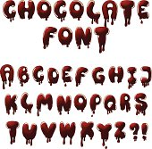 chocolate font